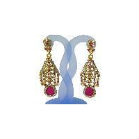 antique fashion designer diamond earring
