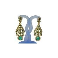 indian artificial designer diamond earring