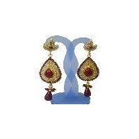 Traditional fashion designer indian costume earrin