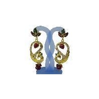 New indian fashion diamonds earrings jewelry