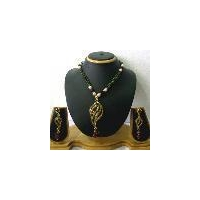 Fancy Indian pearl jewellery set