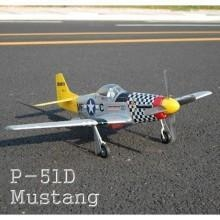 China P-51D Mustang Brushless Electric Airplane on sale