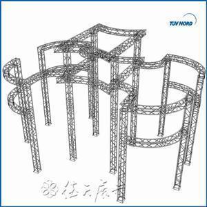China Circular Aluminum Truss on sale
