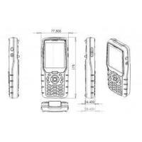 LF RFID 134.2KHz / 125KHz , 3.5Inch TFT LCD Handheld UHF RFID Readers