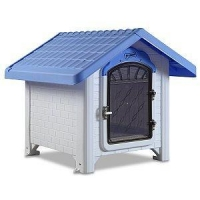 Ultra Lite Plastic Dog House (Up to 30lbs XS-M)
