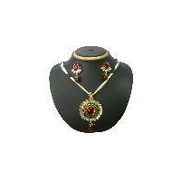 indian antique party fashion kundan pendant