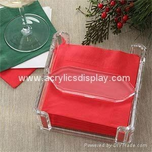 China acrylic napkin holder on sale