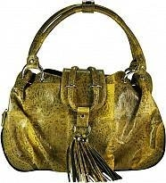 China Genuine frog / toad leather bag FROGBAG01 Yellow on sale