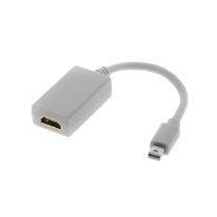 Mini DisplayPort to HDMI Female Adapter Cable for Apple Macbook, Macbook Pro...