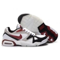 Nike Air Max Hoop Structure 91 Mens - Black/Red/White Trainers U