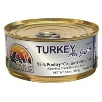 Wysong Turkey Au Jus Dog & Cat Food 24/5.5 oz Cans