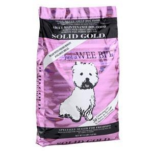 China Solid Gold Just A Wee Bit (Bison) Small Breed Adult Dog Food 15 lb Bag on sale