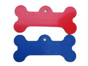 China Small Bone Plastic Tag on sale