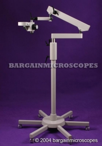 China MOBILE FLOOR STANDW/ ARTICULATING BOOM ARMW/ FOCUSING HOLDERFOR MICROSCOPE on sale