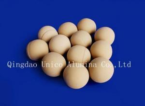China 75% alumina ball on sale