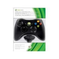 official xbox 360 Wireless Controller plus Play and Charge Kit black