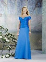 China 2011 Off-the-shoulder Empire Waist Mother Of The Bride Dress on sale