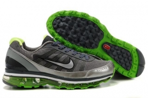 China Nike Air Max 2009 Black Silver Green on sale