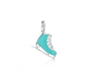 China Excellent Tiffany ice skate charm outletonline on sale