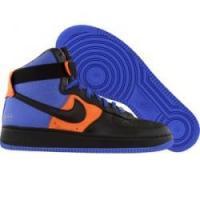 Nike Air Force 1 High Supreme DJ Clark Kent NYC 375379 401 varsity royal black ginger