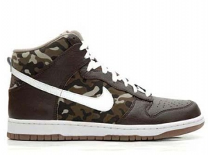 China Nike Dunk High Tops Premium Camo Print on sale