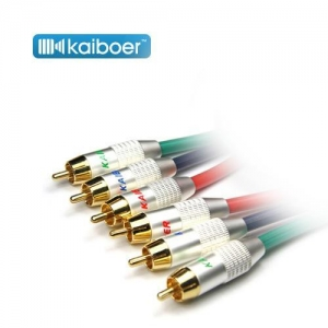 China Kaiboer-luxury HDTV YPbPr Component Video Cable on sale