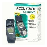 ACCU-CHECK COMPACT BLOOD GLUCOSE METER KIT