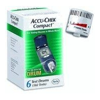 ACCU-CHEK COMPACT 17 TEST DRUMS