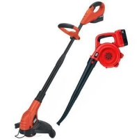 China Black & Decker NCC218 18V Cordless Trimmer & Sweeper Outdoor Combo Kit on sale