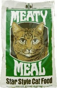 China Meaty Meal Cat Dry Food (20 LBS) on sale