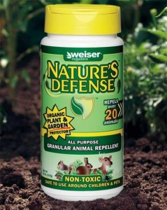 China NEW Weiser's Nature's Defense All Purpose Granular Animal Repellent 22 oz. bottle on sale