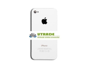 China Original iPhone 4S Back Housing Rear Cover - White on sale