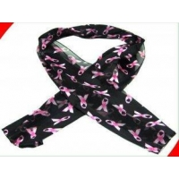China Red / Mint Printed Satin Vintage Silk Ladies Neck Scarves with 25x70 cm Passed SGS on sale