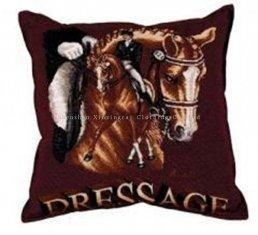 China 40 x 40 cm Euro Horse Head Throw / Toss Decorative Pillow Fabric Home Textiles on sale