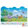 China Decor Mural Art Wall Paper Stickers-Pooh's flying kite GXL-4B for sale