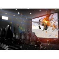 Middle detail solution of 3D/4D motion cinema