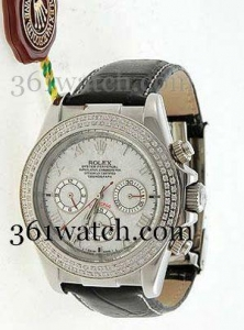 China Rolex Daytona White Textured Dial Replica on sale