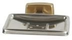 China Brass and Stainless Soap Dish without Drain on sale