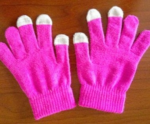 China Touch screen glove on sale