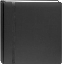 China Pioneer Snapload 12 x 12 Scrapbook Album - Black on sale