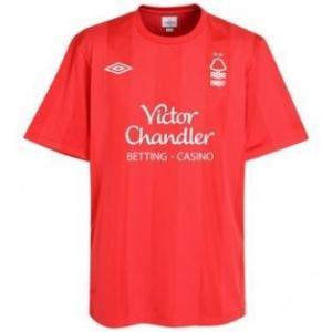 China 2010-11 Nottingham Forest Adidas Home Shirt on sale