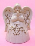 Praying Angel Tea Light Holder