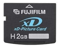 China Fuji 2GB xD Picture Card Type H on sale