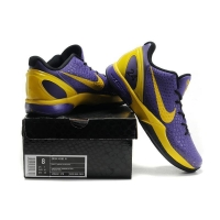China nike kobe Bryant 6 series-purple/yellow on sale