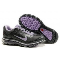 China Women's Nike Air Max 2009 - Black/Purple on sale
