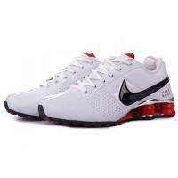 China Nike Shox R4 men shoes white/black/red on sale