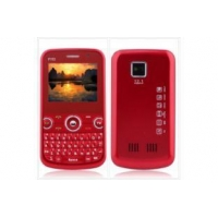 Triple SIM Quadband Cell Phone G-sensor-red