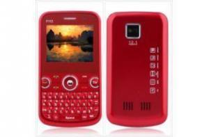 China Triple SIM Quadband Cell Phone G-sensor-red on sale