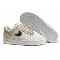 Nike Low Tops Air Force 1 GS Independence Day Pack White Metallic Gold
