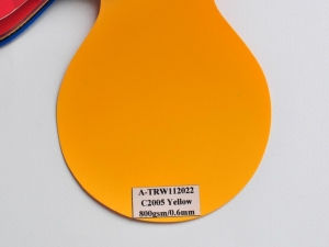 China Flex Banner(42) A-TRW112022 C2005 Yellow 800gsm/0.6mm on sale